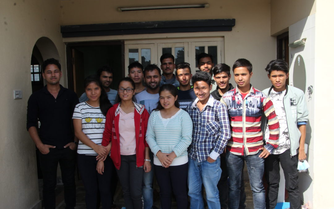 Scholarship Students who are supported by different organisation under our Higher Scholarship Program